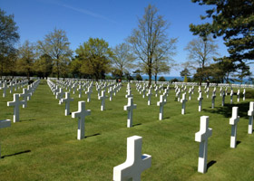 """The sacrifices of all the other soldiers buried in Normandy allowed me to live in a world free of tyranny,"" said Troublefield."
